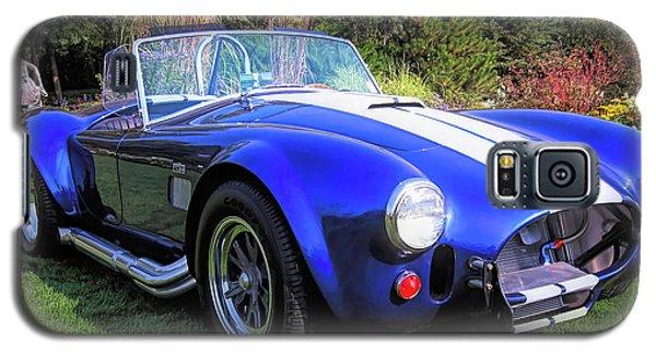 Blue 427 Shelby Cobra In The Garden Galaxy S5 Case