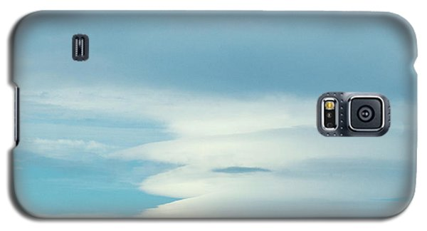 Blue And White Clouds Galaxy S5 Case