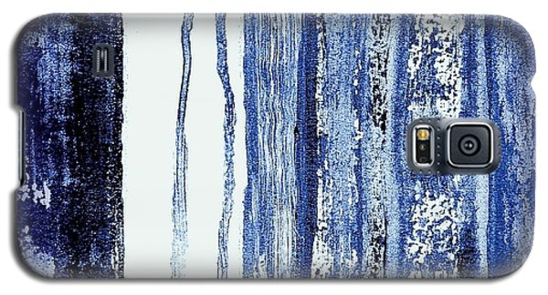 Blue And White Rainy Day Galaxy S5 Case