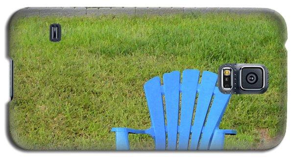 Blue Chair Galaxy S5 Case
