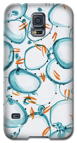 Blue Crabs Together Galaxy S5 Case
