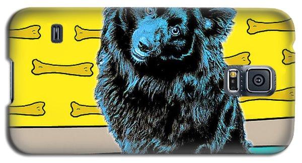 Blue Dog Galaxy S5 Case
