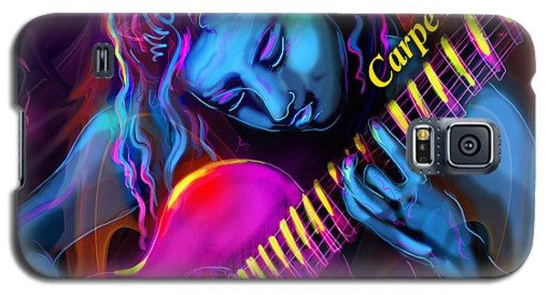 Blue Heart, Carpe Diem Galaxy S5 Case