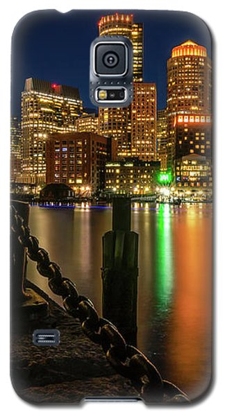 Blue Hour At Boston's Fan Pier Galaxy S5 Case
