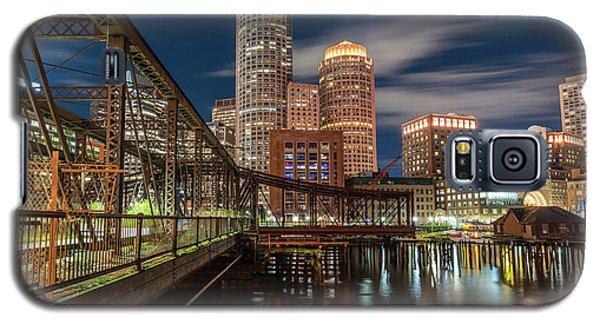 Blue Hour In Boston Harbor Galaxy S5 Case