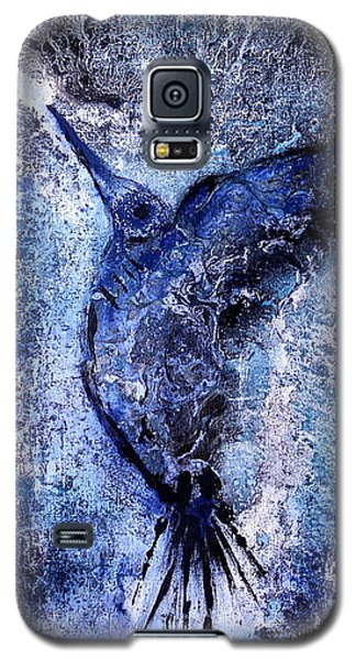 Blue Hummingbird Galaxy S5 Case
