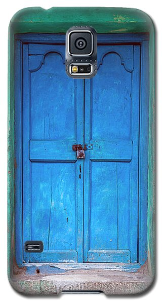 Blue Indian Door Galaxy S5 Case