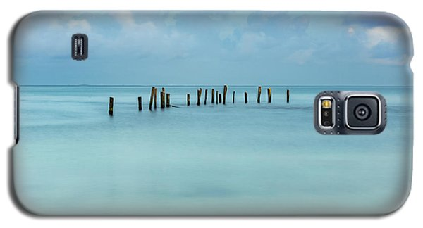 Blue Mayan Sea Galaxy S5 Case
