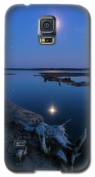 Blue Moonlight Galaxy S5 Case