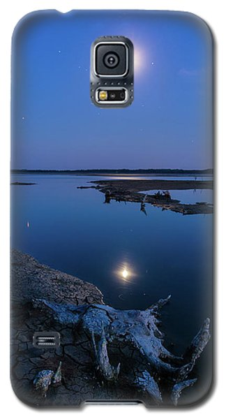 Blue Moonlight Galaxy S5 Case