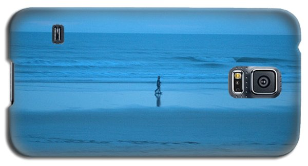 Blue Morning Stroll Galaxy S5 Case