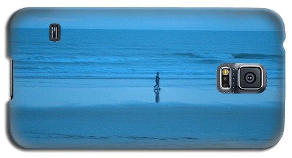 Blue Morning Stroll Galaxy S5 Case
