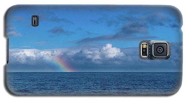 Blue Rainbow Horizon Galaxy S5 Case