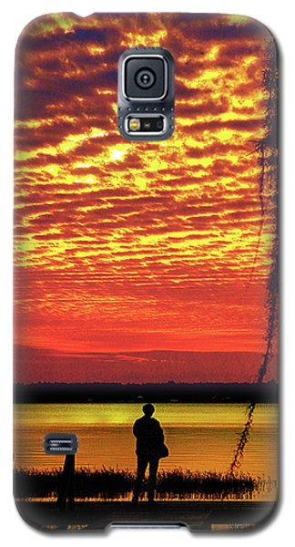 Blue Reflection Galaxy S5 Case