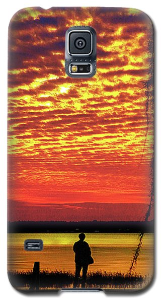 Blue Reflection Galaxy S5 Case