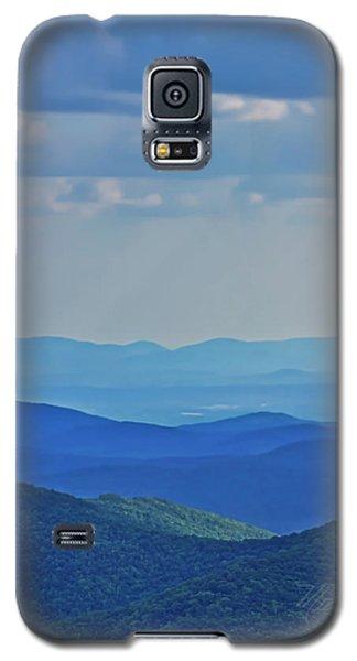 Blue Ridge Mountains Galaxy S5 Case