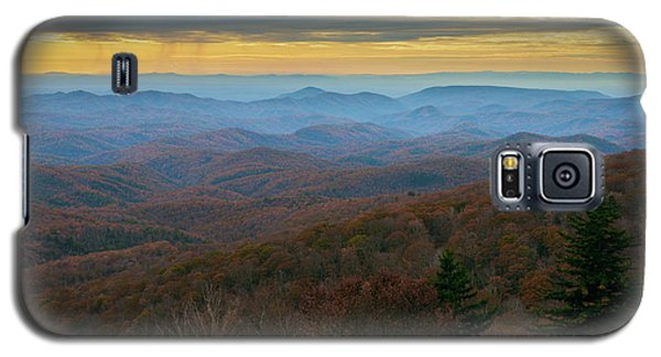 Blue Ridge Parkway - Blue Ridge Mountains - Autumn Galaxy S5 Case