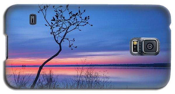 Blue Silence Galaxy S5 Case