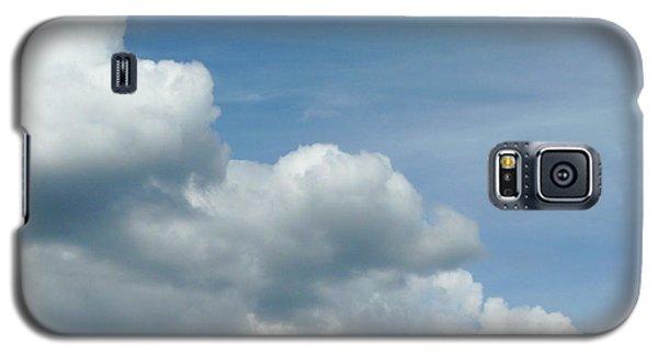 Blue Sky, White Clouds Galaxy S5 Case
