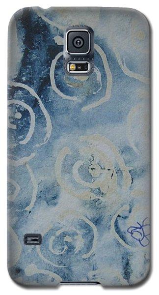 Blue Spirals Galaxy S5 Case