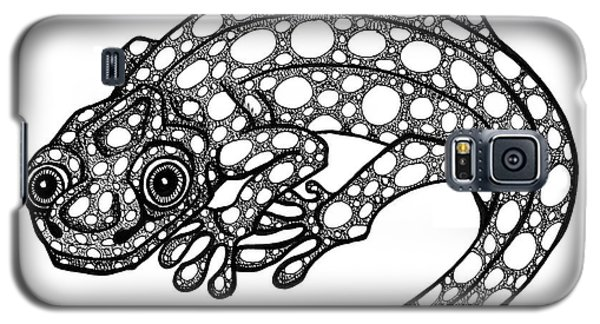 Blue Spotted Salamander Galaxy S5 Case