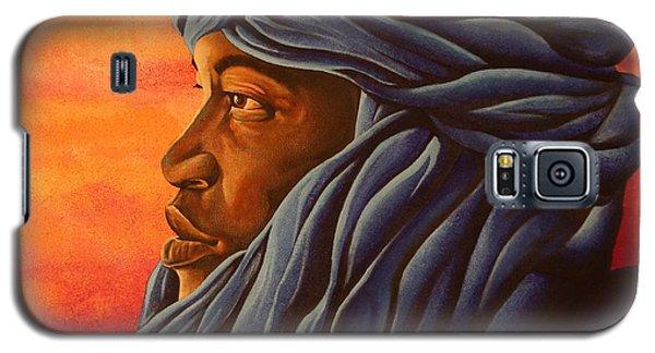 Blue Tuareg Galaxy S5 Case