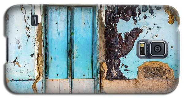 Blue Wall And Door Galaxy S5 Case