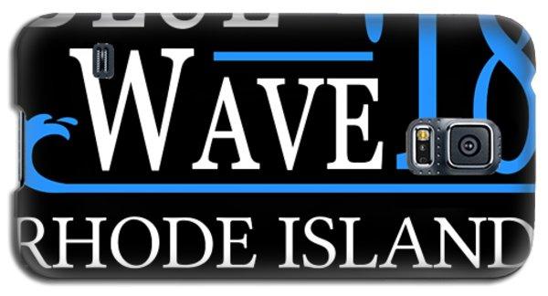 Blue Wave Rhode Island Vote Democrat 2018 Galaxy S5 Case