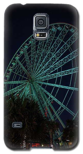 Blue Wheel Galaxy S5 Case