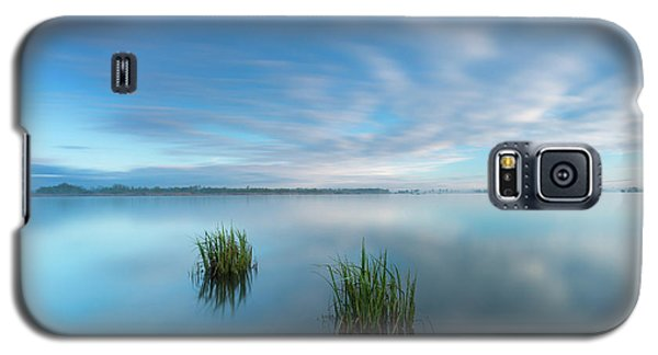 Blue Whirlpool Galaxy S5 Case
