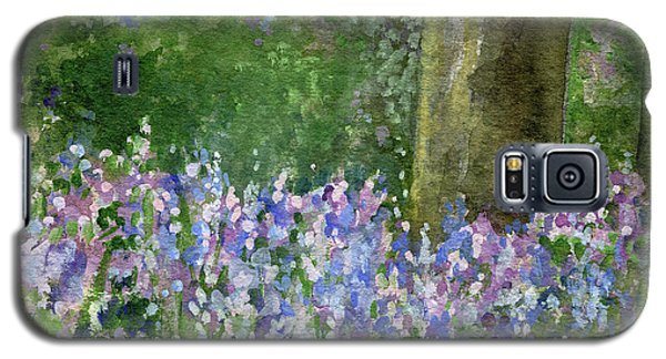 Bluebells Under The Trees Galaxy S5 Case