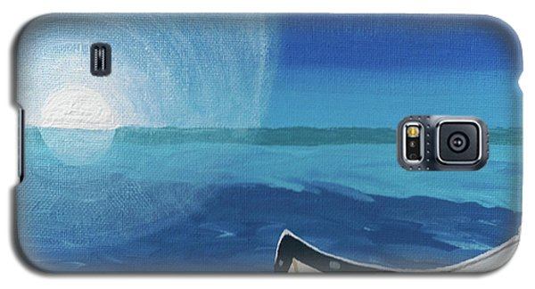 Boat On The Beach Galaxy S5 Case