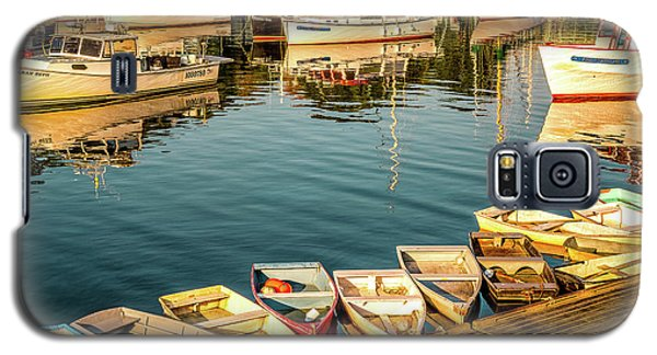 Boats In The Cove. Perkins Cove, Maine Galaxy S5 Case
