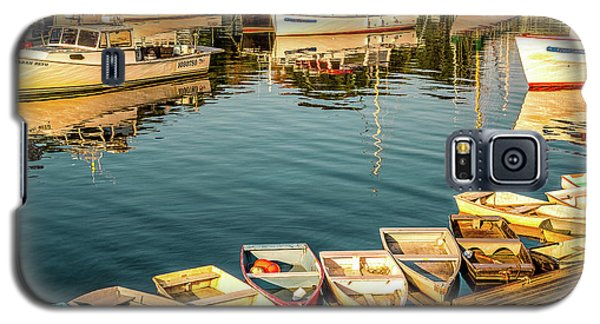 Boats In The Cove. Perkins Cove, Maine Galaxy S5 Case
