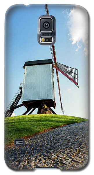 Bonne Chiere Windmill Bruges Belgium Galaxy S5 Case