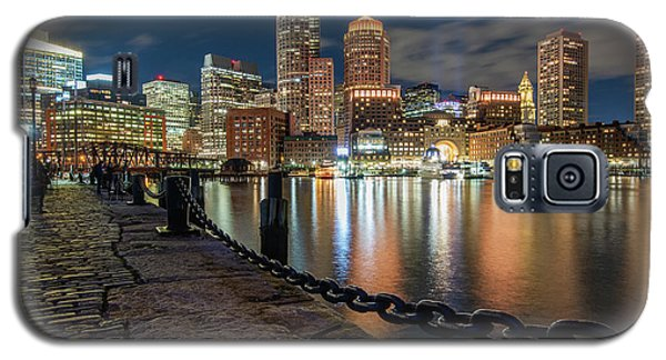 Boston At Blue Hour Galaxy S5 Case