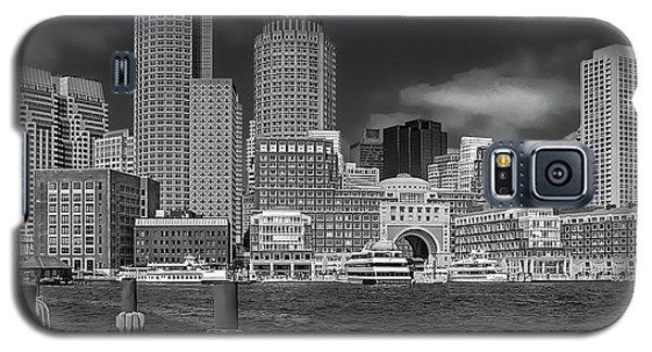 Boston Harbor Skyline Galaxy S5 Case
