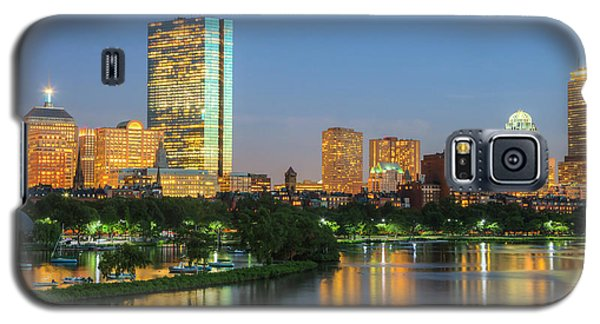 Boston Night Skyline II Galaxy S5 Case