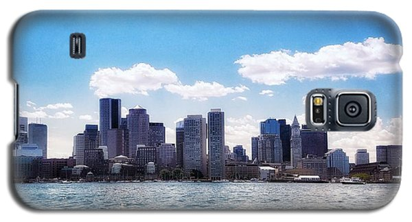 Boston Skyline From Boston Harbor  Galaxy S5 Case