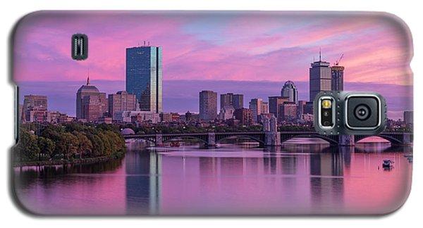 Boston Sunset Galaxy S5 Case