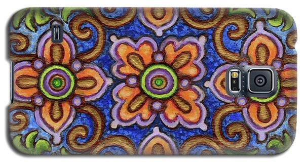 Botanical Mandala 1 Galaxy S5 Case