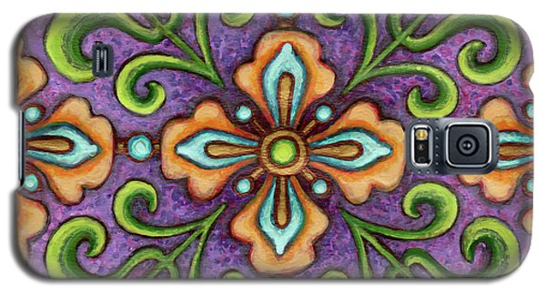 Botanical Mandala 10 Galaxy S5 Case