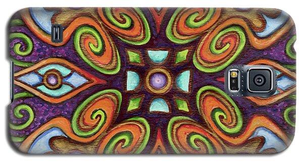 Botanical Mandala 11 Galaxy S5 Case