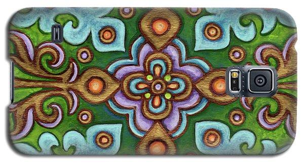 Botanical Mandala 4 Galaxy S5 Case