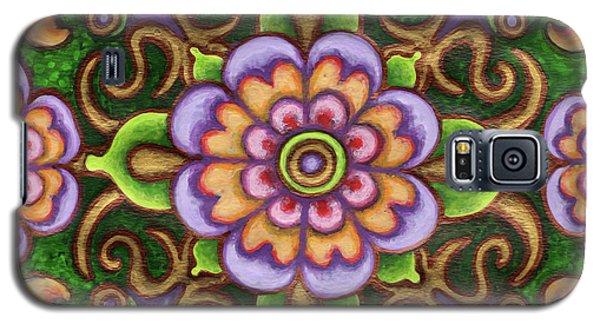 Botanical Mandala 5 Galaxy S5 Case