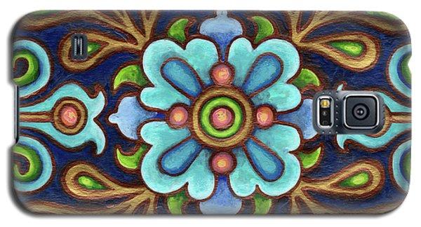 Botanical Mandala 9 Galaxy S5 Case