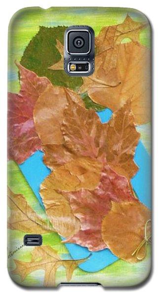Bouquet From Fallen Leaves Galaxy S5 Case