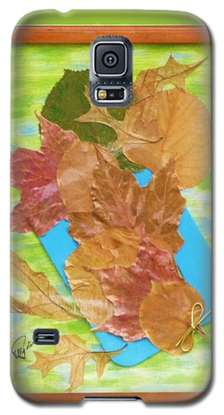Bouquet From Fallen Leaves Galaxy S5 Case