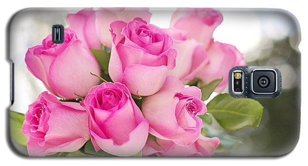 Bouquet Of Pink Roses Galaxy S5 Case