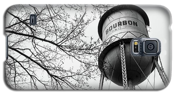 Bourbon Whiskey Water Barrel Tower - Monochrome Galaxy S5 Case